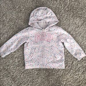 Baby Gap toddler girl hoodie sweatshirt sz 18-24m